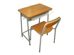 SDC - 02  教署標準學生檯椅 + 膠掩板